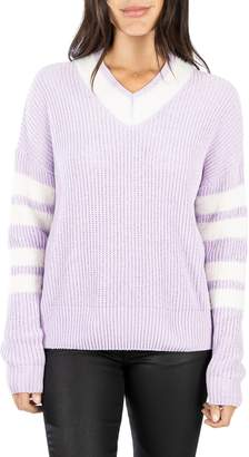 KUT from the Kloth Madia V-Neck Sweater