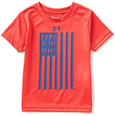 Under Armour Little Boys 2T-7 Home Of The Brave Short-Sleeve Tee
