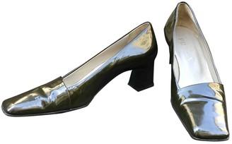 Prada Green Patent leather Heels