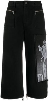Diesel DE-Reika-SX wide-leg jeans
