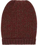 Barneys New York MEN'S CHEVRON CASHMERE BEANIE