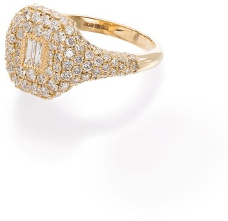 Shay 18kt Yellow Gold Pave Diamond Ring