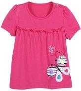 Zhengpin Baby Girl Cartoon Short T Shirts Summer Kids Child Clothing Tops blouse