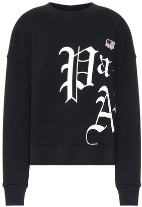 Palm Angels Logo cotton-jersey sweatshirt