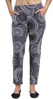 24/7 Comfort Apparel Oriental Printed Pants