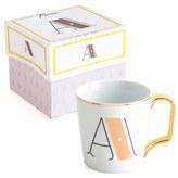 Rosanna Monogram Porcelain Coffee Mug