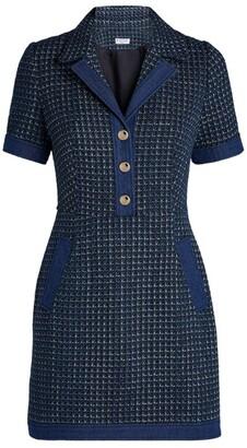 Claudie Pierlot Knitted Blazer Dress