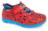 Stride Rite Infant Boy's 'Made2Play Phibian - Spiderman' Sneaker