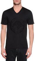 Stefano Ricci Tonal-Logo Short-Sleeve T-Shirt
