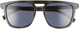 BOSS 54mm Polarized Retro Sunglasses
