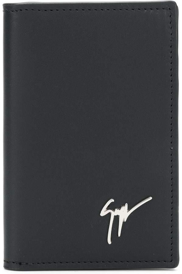 Giuseppe Zanotti Design tall bifold card holder