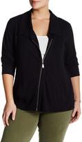Cable & Gauge Side Zip Tunic Jacket