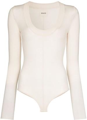 KHAITE Clover bodysuit