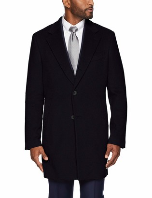 Buttoned Down Men's Italian Wool Cashmere Overcoat