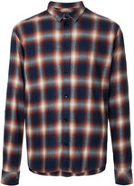 IRO checked shirt - men - Cotton/Rayon - M