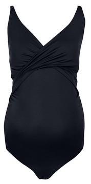 Dorothy Perkins Womens Dp Maternity Black Swimsuit, Black