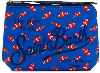 MC2 Saint Barth Fish Print Wash Bag