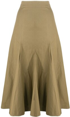 Joseph flared A-line skirt