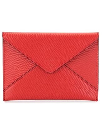 Louis Vuitton pre-owned Envelope Invitation leather clutch