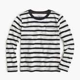 J.Crew Boys' long-sleeve classic striped T-shirt