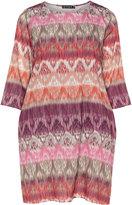 Jette Joop Plus Size A-line print dress