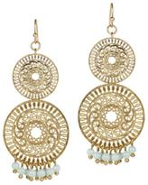 Gemma Collection Mint Filigree Earrings