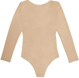 Nalu Underwear The Salon Bodysuit Nude