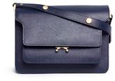 Marni 'Trunk' saffiano leather shoulder bag