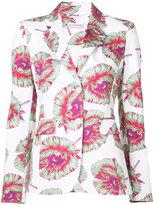 Altuzarra printed blazer - women - Cotton/Polyester/Spandex/Elastane/Viscose - 38