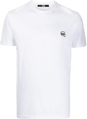 Karl Lagerfeld Paris small patch T-shirt