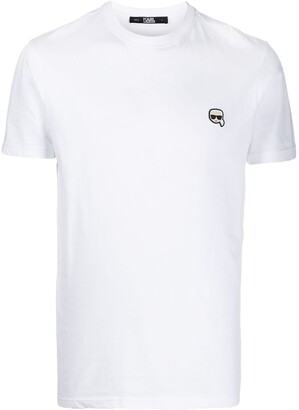 Karl Lagerfeld Paris small patch T-shirt