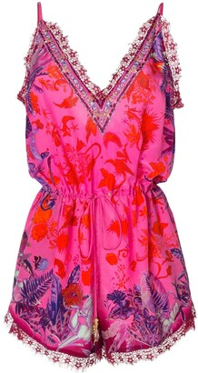 Camilla Tropic of Neon playsuit
