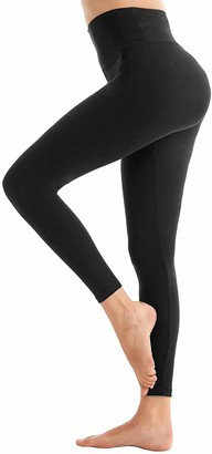 Rara RARAWomen's Full Length Cotton Leggings Soft