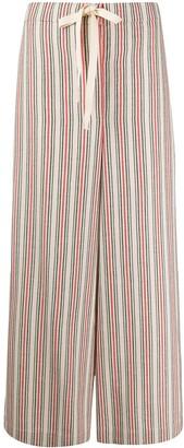 Jil Sander Striped Pyjama Trousers