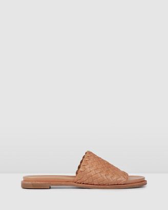Jo Mercer - Women's Brown Flat Sandals - Beau Flat Sandals - Size One Size, 37 at The Iconic