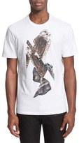 Neil Barrett Men's 'Falcon' Graphic T-Shirt