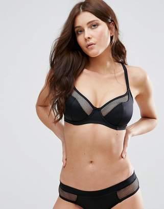 Pour Moi? Pour Moi Glamazon Convertible Underwire Bikini Top C-G Cup-Black