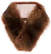 Loro Piana Marmotta Canadese collar - women - Cashmere/Racoon Fur - One Size