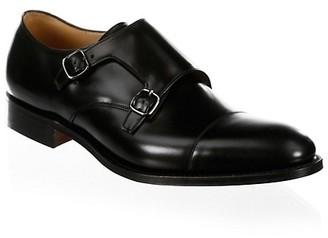 Church's Detroit Double Leather Monk Strap Shoes