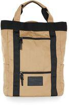 Topman Tobacco Brown Tote Backpack