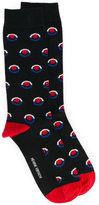 Henrik Vibskov patterned ankle socks - unisex - Cotton/Spandex/Elastane/Nylon - One Size