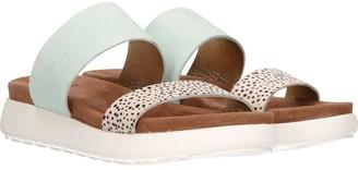 Maruti Alexis Mint Suede Sandals - 37