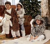 Pottery Barn Kids Animal Print Fleece Robes
