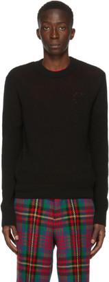 Ami Alexandre Mattiussi Black Crewneck Sweater