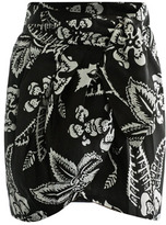 Isabel Marant Tundra tie front wrap skirt