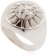 Versus Lion Plaque Ring