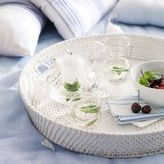 The White Company White Wash Round Tray
