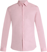 Burberry Seaford single-cuff cotton-blend poplin shirt