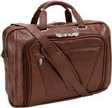 McKlein McKleinUSA Irving Park 15.6 Leather Double Compartment Laptop Briefcase
