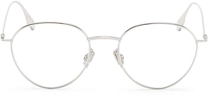 Christian Dior 'Dior Stellaire O2' metal round optical glasses
